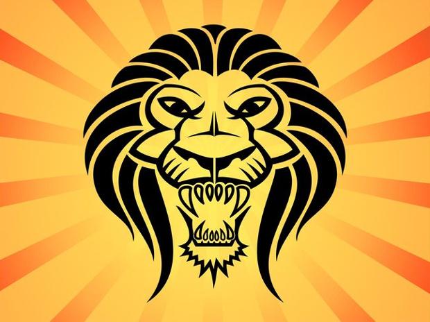 Lion Head Vector Art