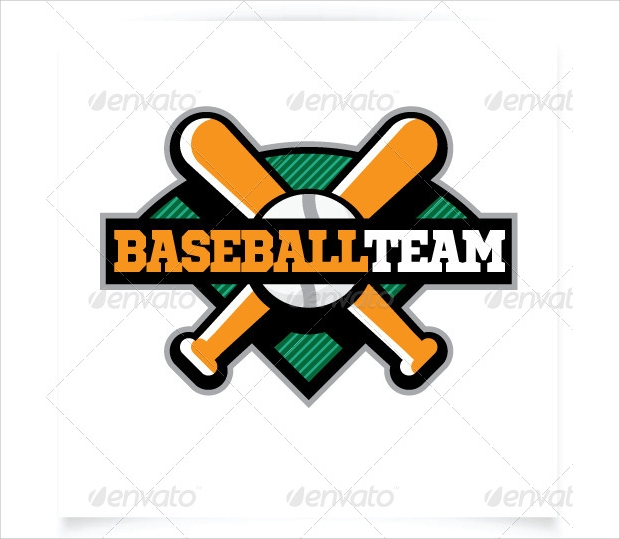 Baseball Team Logo Template