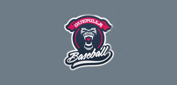 guerilla baseball logo design