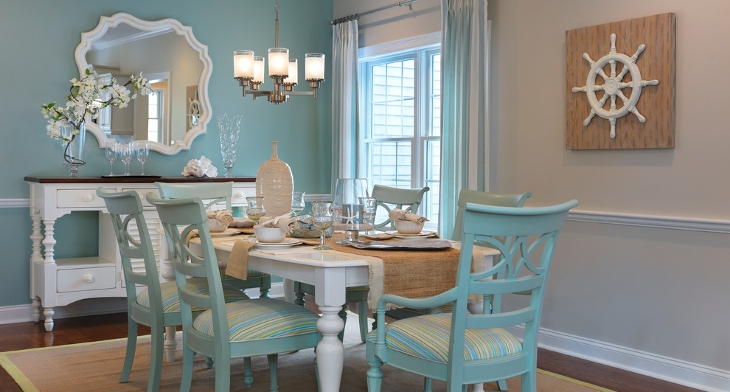 20+ Turquoise Dining Room Designs, Ideas | Design Trends ...