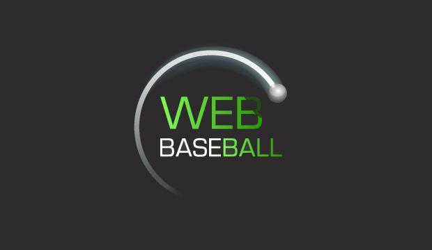 web baseball logo