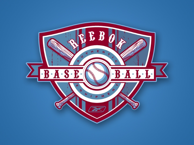 Baseball Shield Logo