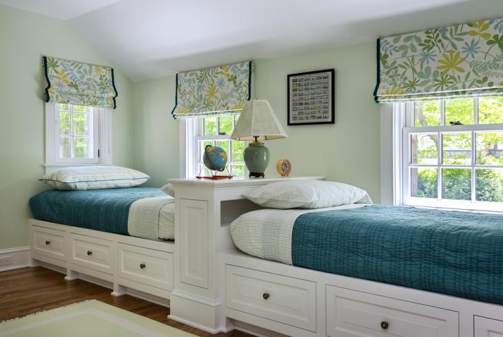 kids twin storage beds