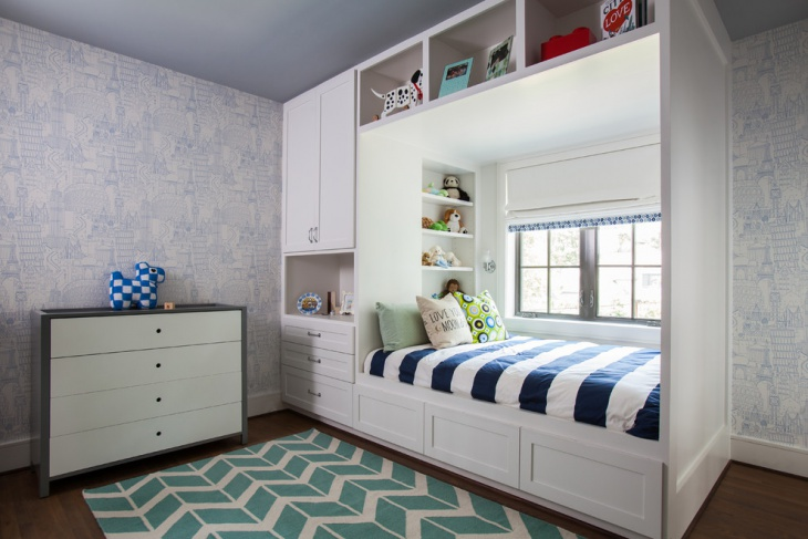 kids platform beds with storage