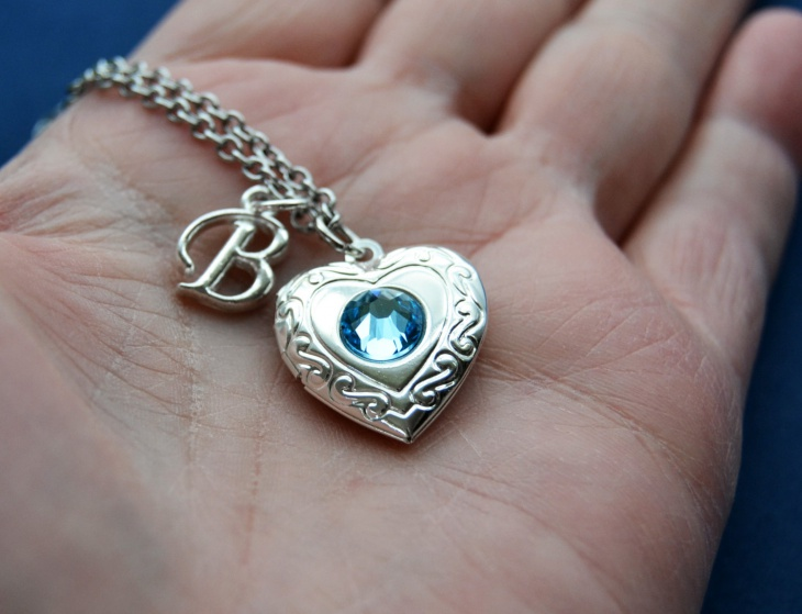 Aquamarine Heart Pendant Design