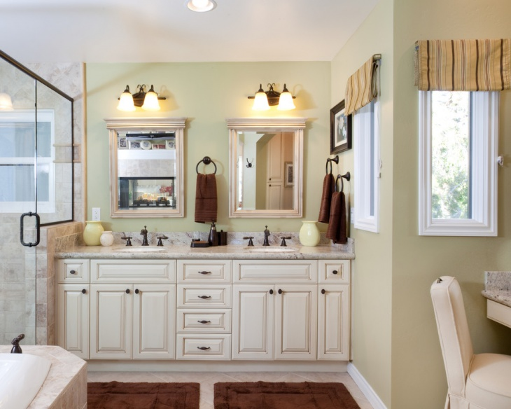Beach Style Vanity Light Bathroom
