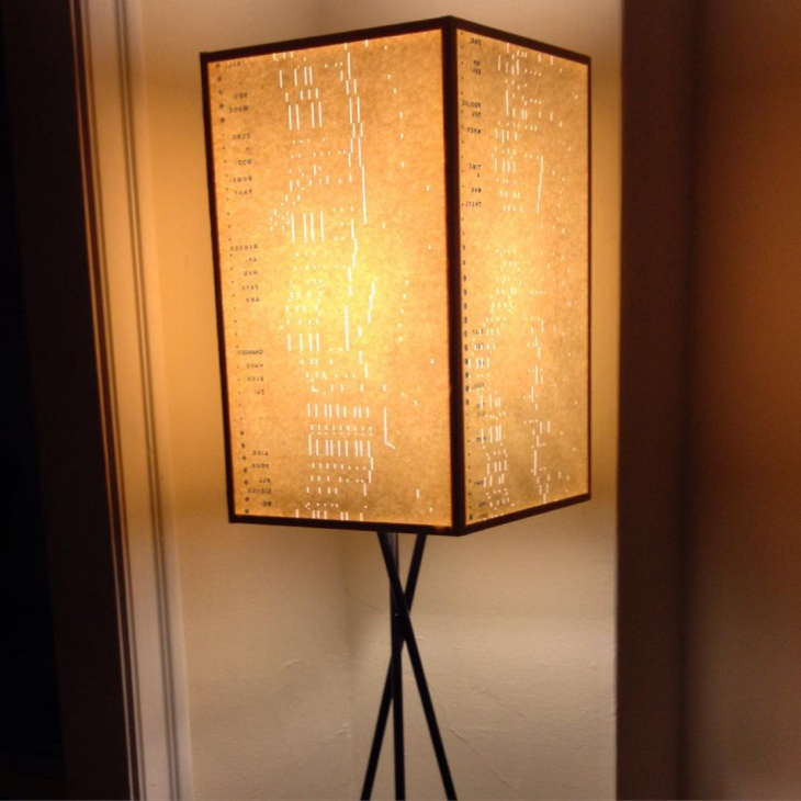 large drum lamp shade