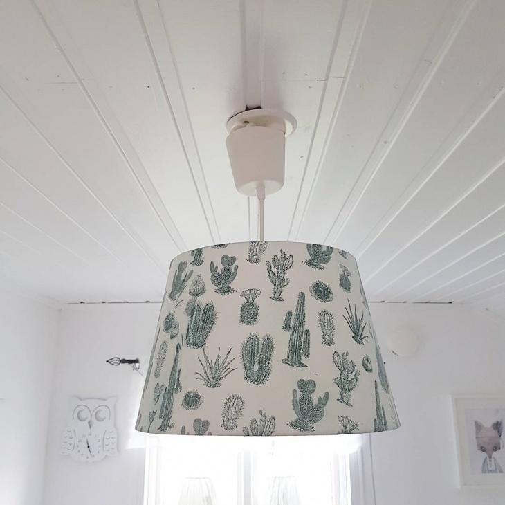 Flush Mount Drum Shade Decor