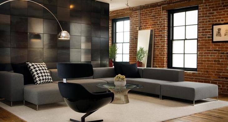 18 Masculine Living Room Designs Design Trends Premium Psd