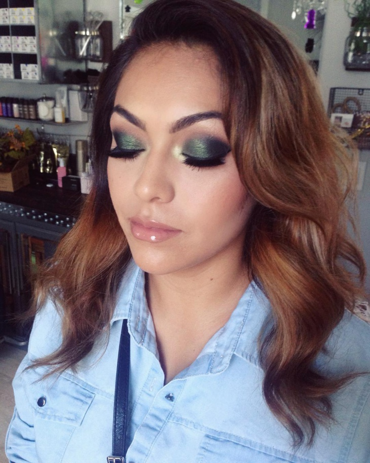 Gorgeous Quinceanera Eye Makeup