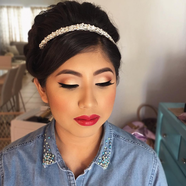 Quinceanera Prom Makeup