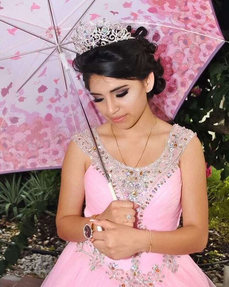 Quinceanera Princess Makeup