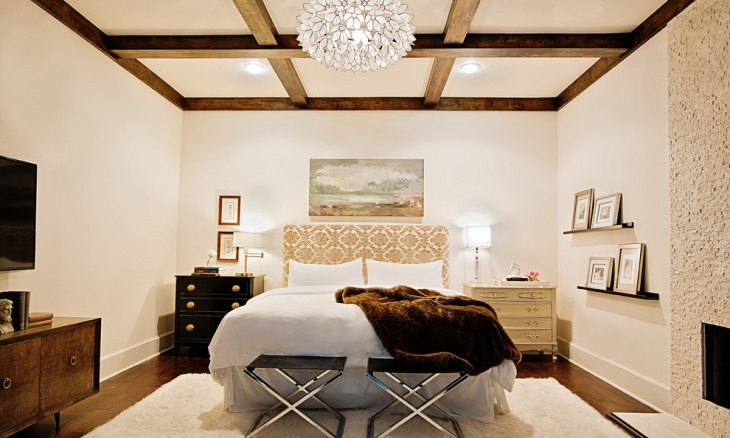 chandelier bedroom