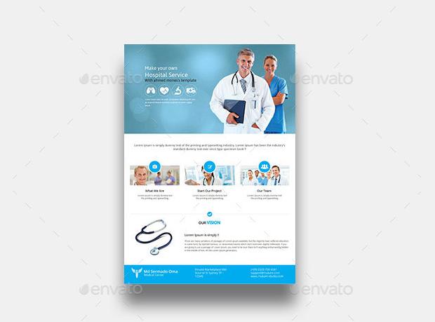 Medical Hospital Flyer