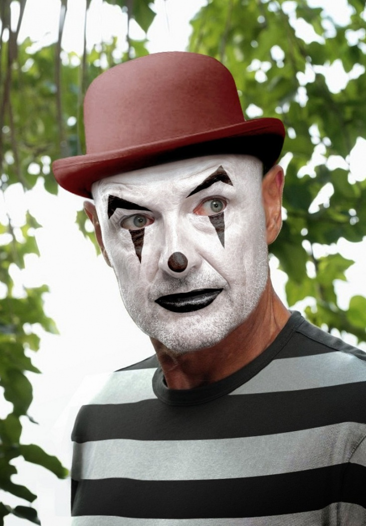 Terry O'Quinn Halloween Makeup Idea