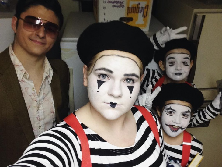 Funny Mime Makeup