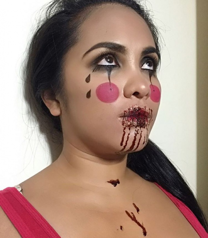Sad Girl Halloween Makeup