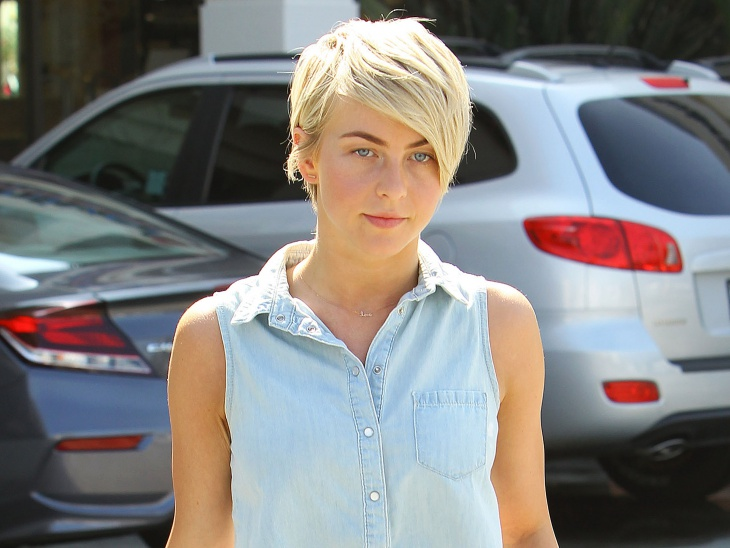 Julianne Hough Pixie Haircut