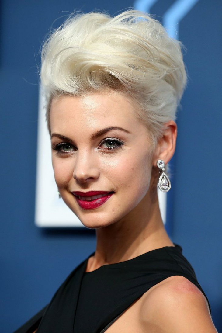 kate peck quiff hairstyle