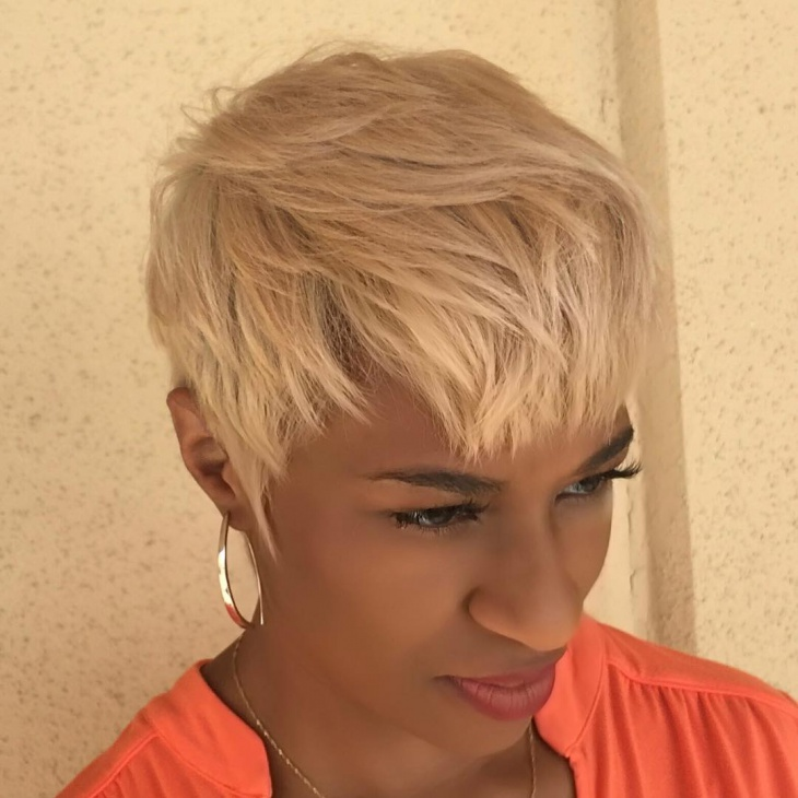 Modern Short Pixie Haircut
