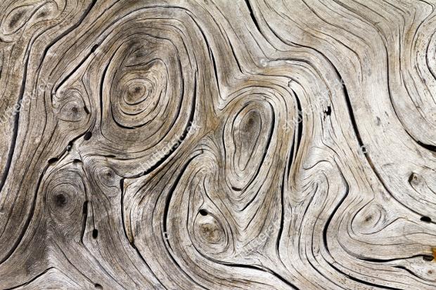 Wooden Swirls Organic Texture