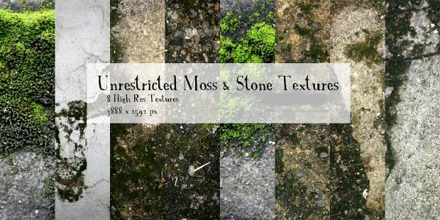 Moss and Stone Texture Idea