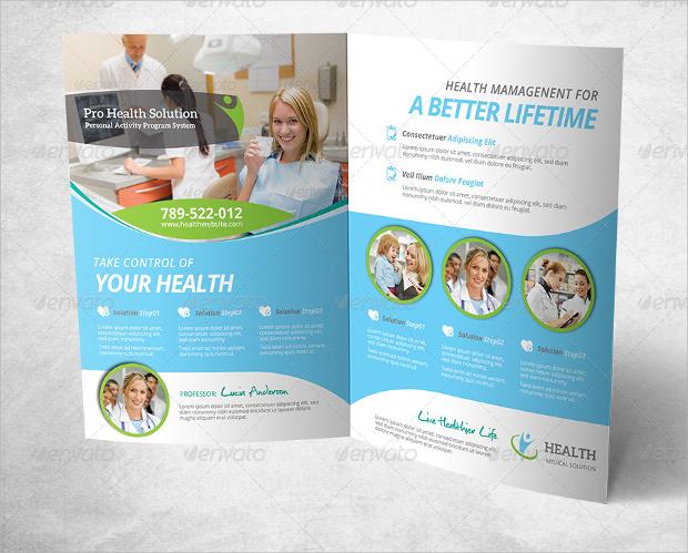 Medical & Health Care Brochure