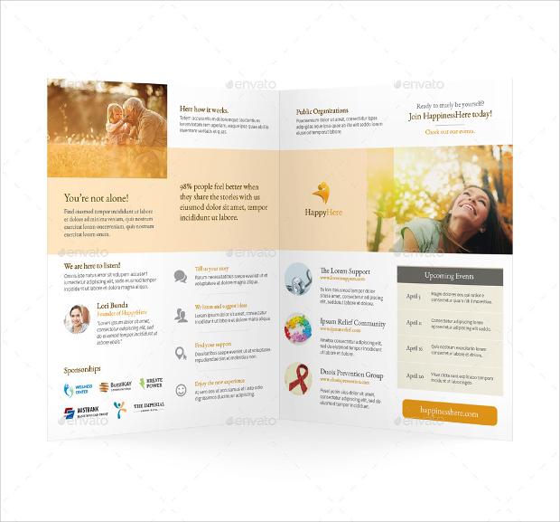 Healthy Care Bi Fold Brochure