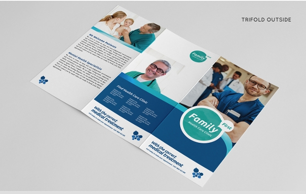 20 Health Brochures Free PSD AI InDesign Vector EPS Format – Healthcare Brochure