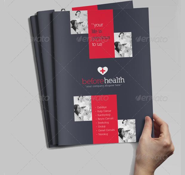 A4 Health Care Brochure