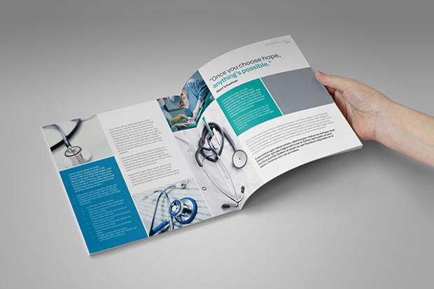 Medical Healthcare Profile Brochure