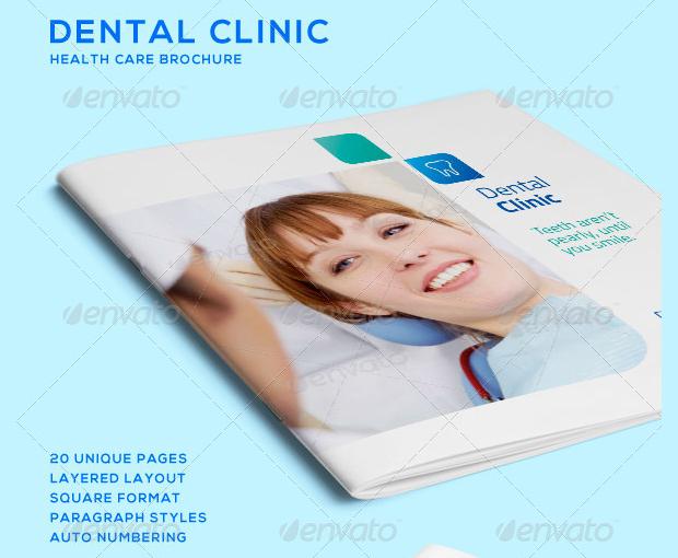 Dental Clinic Healthcare Brochure