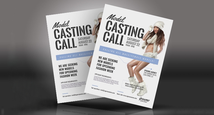 14 audition flyer templates printable psd ai vector eps format