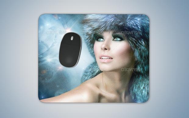 photoshop psd mouse pad mockup