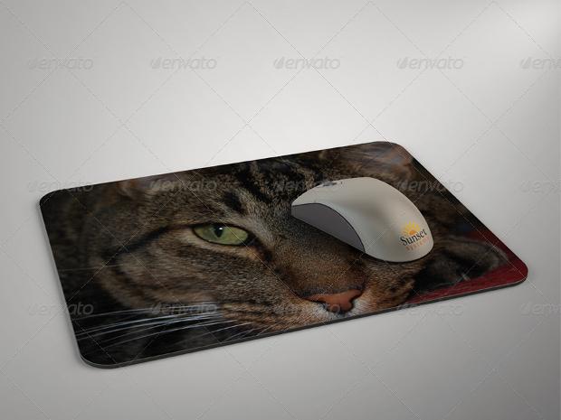high resolution mouse pad mockup