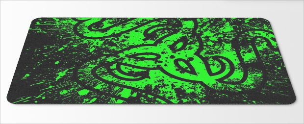 editable mouse pad mockup design