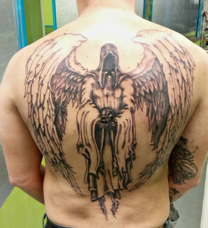 99 Breathtaking Angel Tattoos With Meaning: 21+ Angel Wing Tattoo Designs, Ideas