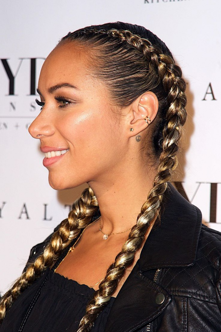 Awesome How To Style 2 French Braids Braids Short Hairstyles For Black Women Fulllsitofus