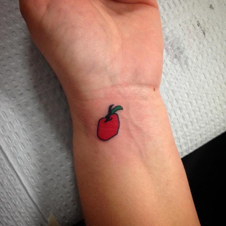 Cute Tattoo on Wrist