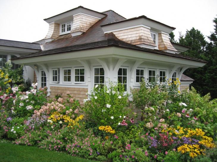 perennial victorian garden idea