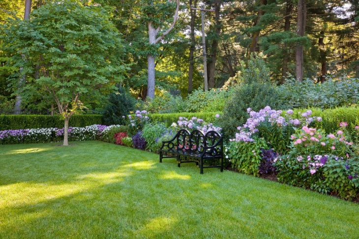 Spacious Small Flower Garden