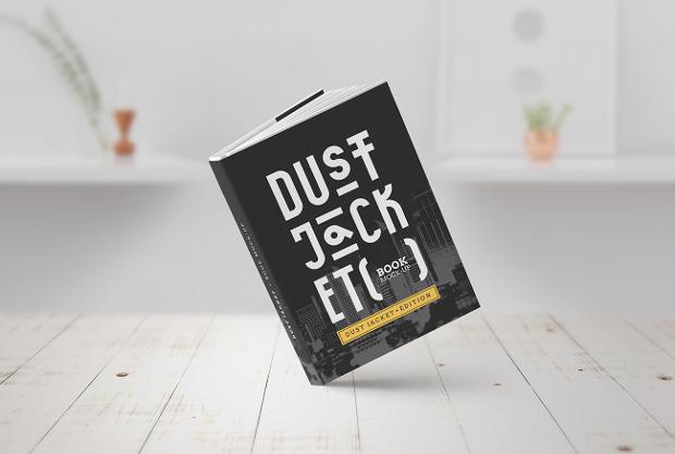 book mockup design