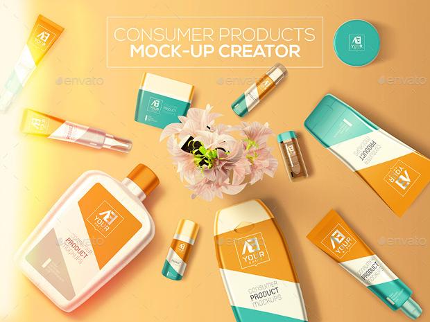 consumer product mockup