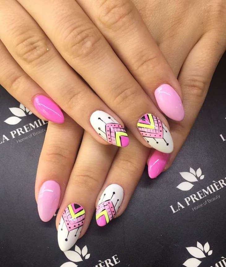 21 Triangle Nail Art Designs Ideas Design Trends Premium Psd