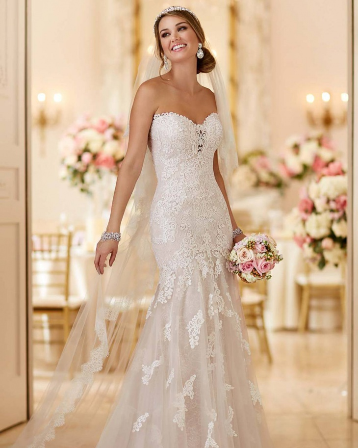 lace wedding dress idea