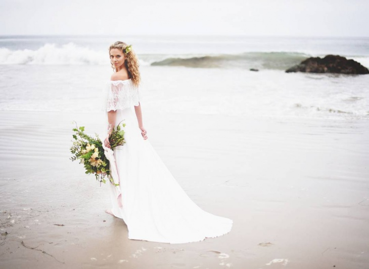 Beach Wedding Gown