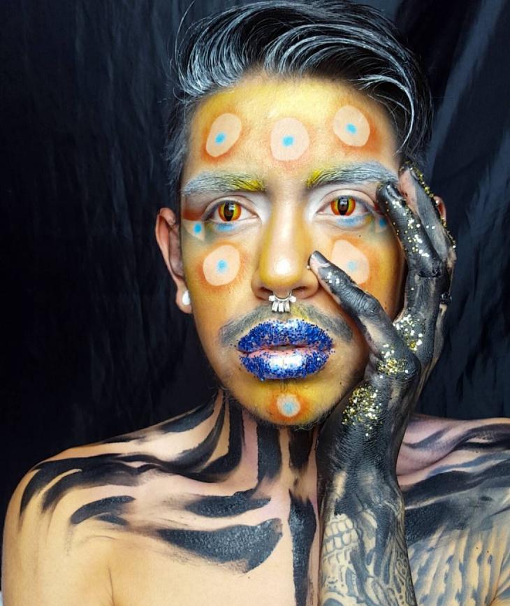Octopus-Inspired Makeup