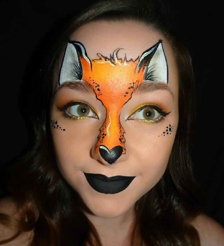 Amazing Animal Makeup Idea