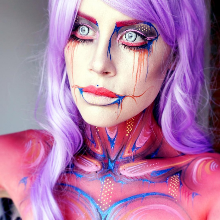 Marvelous Makeup Art Design