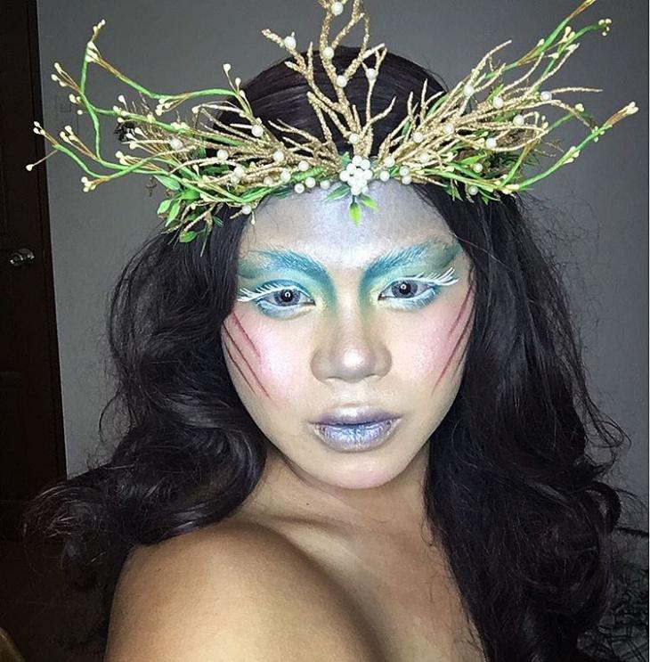 Traditional Byto Girl Makeup